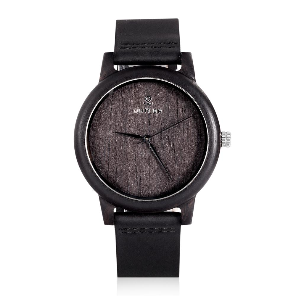 Eco-friendly natural wooden watch quartz japan movt watch prices china watch factory