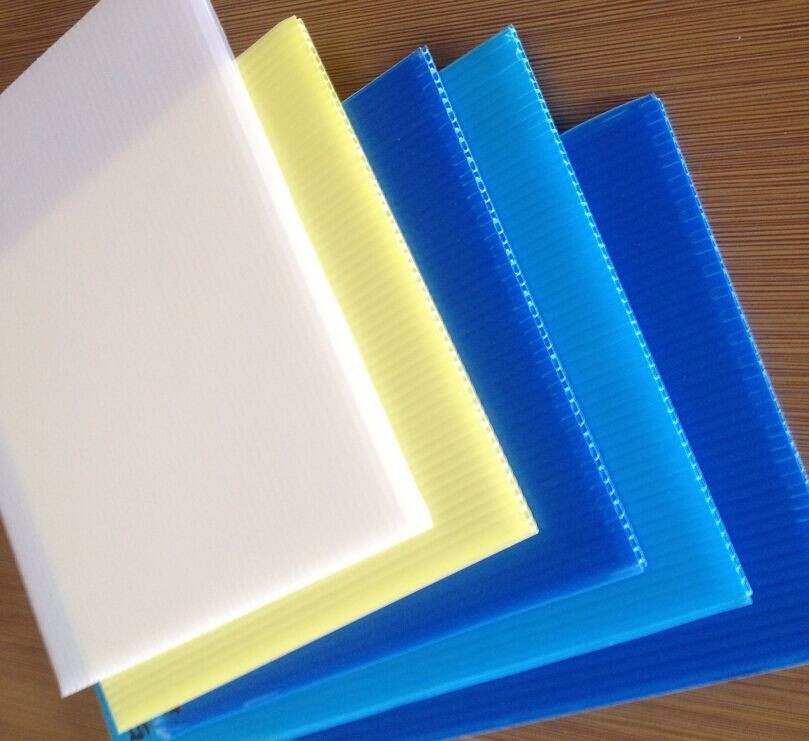 PP corflute sign/corrugated/pp hollow sheet factory Supplier