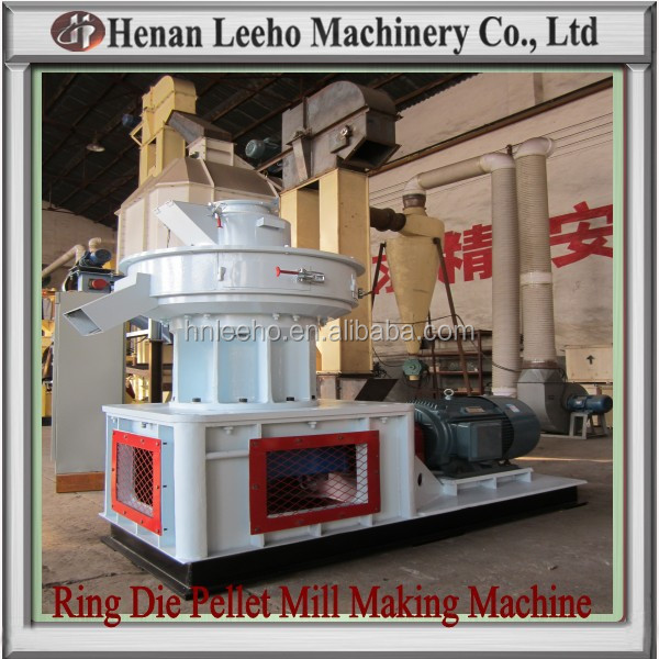 Leeho Vertical Double Layer Ring Die Pellet Mill Sale in EU