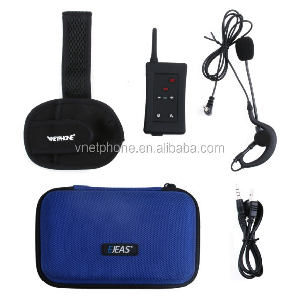 Ejeas 1200m 4 users full duplex referee communications football referee intercom