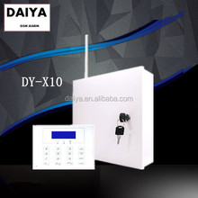 DAIYA gsm wireless home alarm / wireless alarm system with metal case box S120