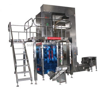 Automatic vacuum cubic packing machine