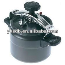 New prouct Aluminum black pressure cooker for cooking