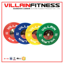 Villain competition bumper plates /KG weight plates/colored Bumper Plates