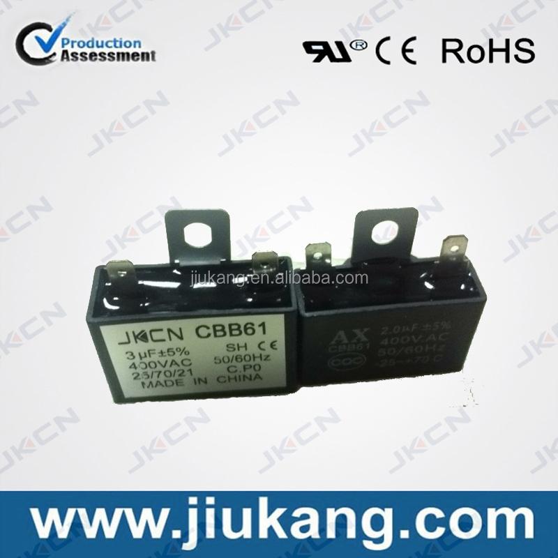Wholesale Price Ac Fan Motor Capacitor Of Cbb61 400v