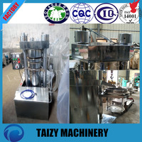 Best factory price Specialized oil hydraulic flax/ pumpkin seed/ olive/ coconut cold oil press machine