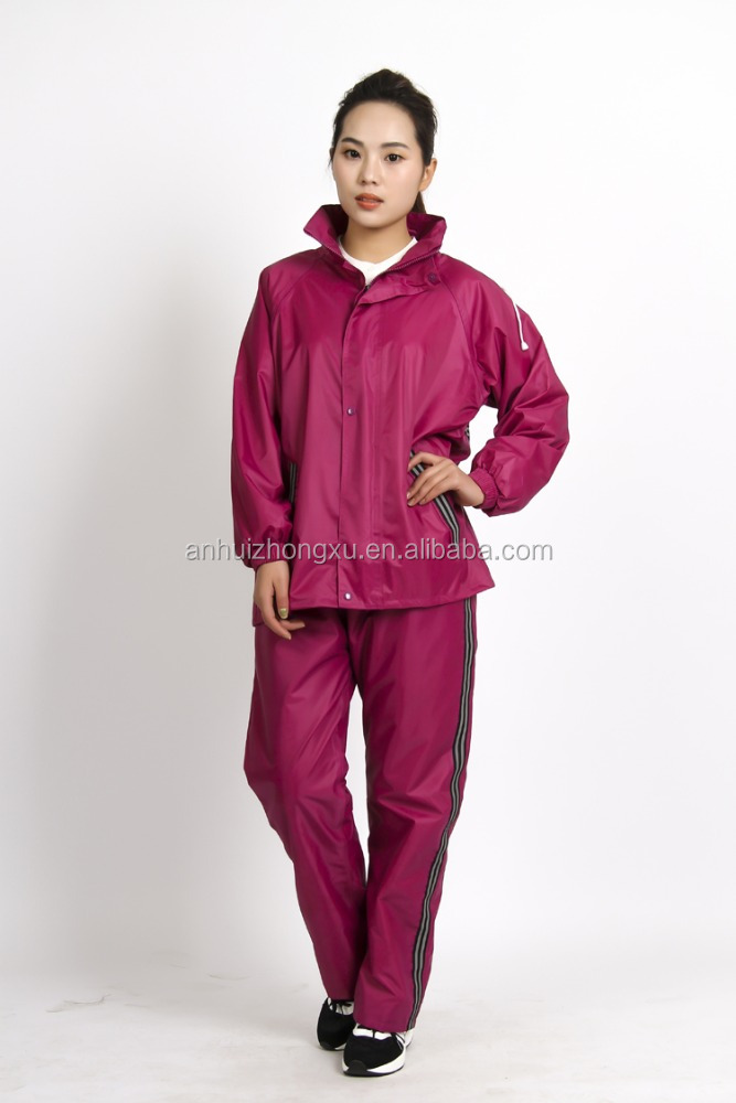 Fashion women raincoat prices / rain coat fashion for women