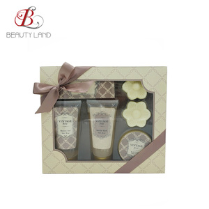 charming scent bath and body care products gift set