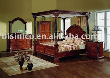 Classical American bedroom sets,side table,dresser,mirror,chest,TV armoire,American furniture