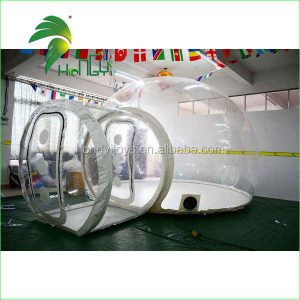 Most Popular Outdoor Igloo Inflatable Clear Tent / Camping Inflatable Bubble Tent Transparent