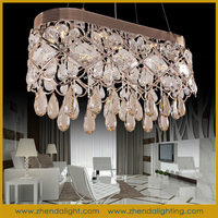 crystal home decor 2015 pendant light & new products chandelier D056/9