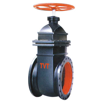 Rubber seat cast iron or ductile iron gate valve for water, oil, steam etc