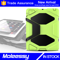 Guangzhou Supplier Wholesale Custom Tablet Case for iPad 2 Kid Proof Rugged Case for 9.7inch
