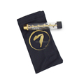 7 pipes Twisty glass blunt Best Dry Herb Vaporizer pen glass blunt Smoking pipe
