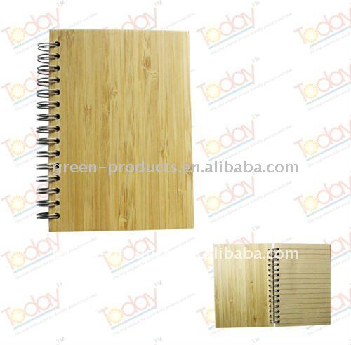 eco friendly Bamboo cover notebook (Item No: TBB002)