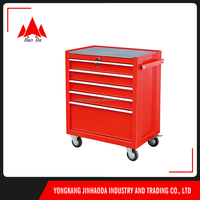 Professional Equipment movable tool cabinet Heavy Duty Tool Chests aluminum tool case with wheels