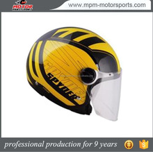 2017 Hot Sale Shiny And Stylish Open Face Motorcycle Helmet
