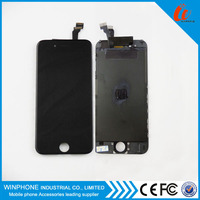 Replacement mobile phone parts front lcd for iphone 6 display assembly