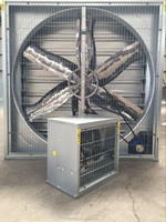 Galvanized frame wall mount large industrial exhaust fan ,air blower fan