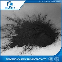 Drilling chemical sulfonated lignite with manufacture