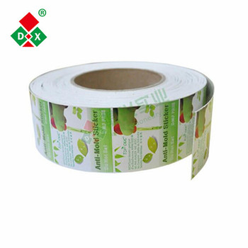 China Supplier Mildew Proof Anti Mold Paper Sticker