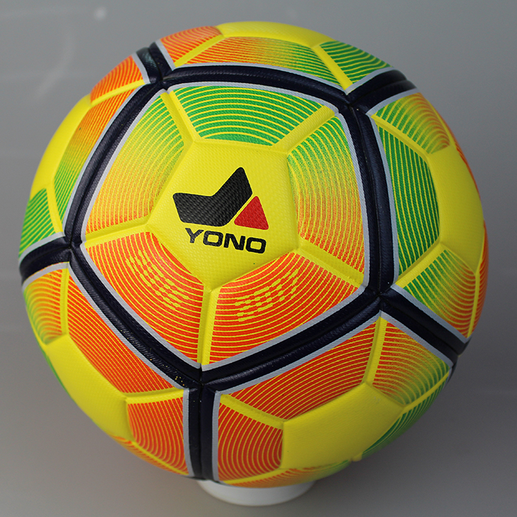 guangzhou sports goods wholesale high quality rubber inflatable football ball