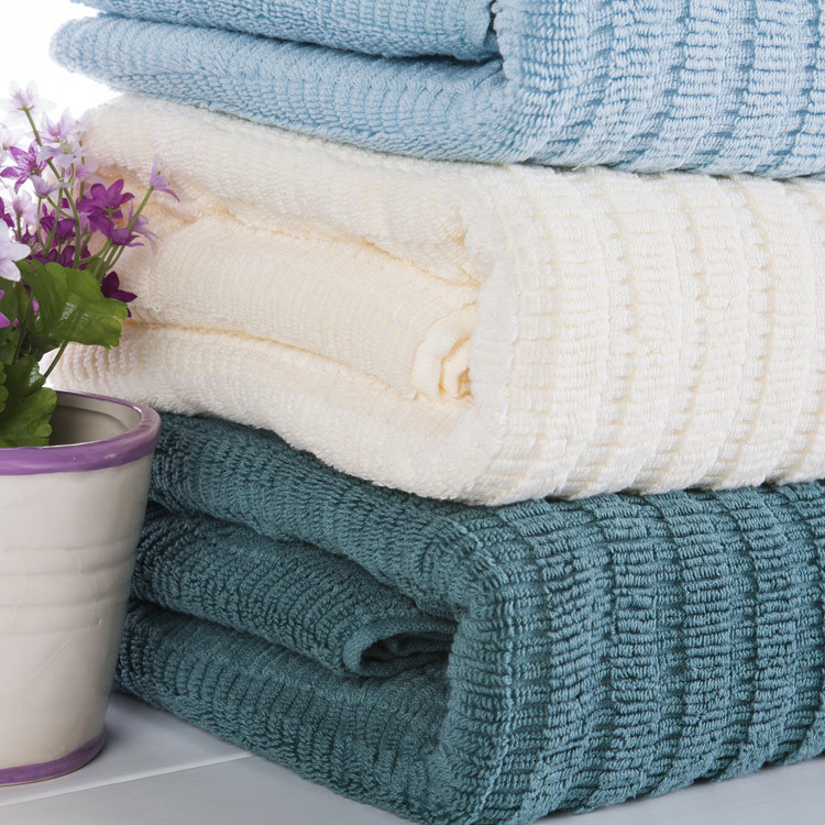 china supplier yarn dyed jacquard design 100 cotton bath towel stock