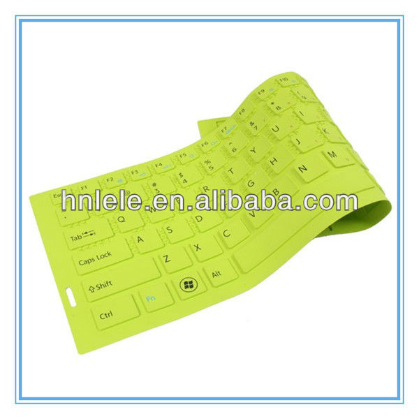 Colorful Silicone Rubber Computer Keyboard