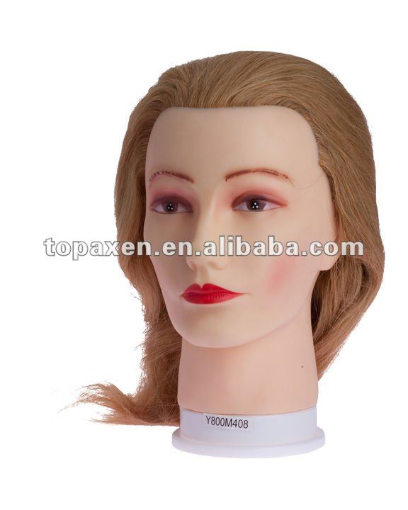 Professional Styling Female Cosmetology Mannequin Hair Cutting