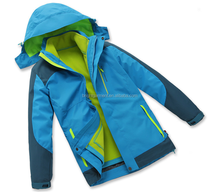 kid cheap hardshell jacket for camping and hiking