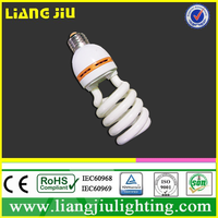 Hot selling high quality 18W half spiral energy saving light/CFL lamp/CFL bulb