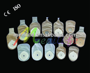 cover pouch disposable free one system closed colostomy bag