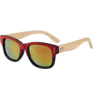 745e76291a9 Gold And Wood Sunglasses