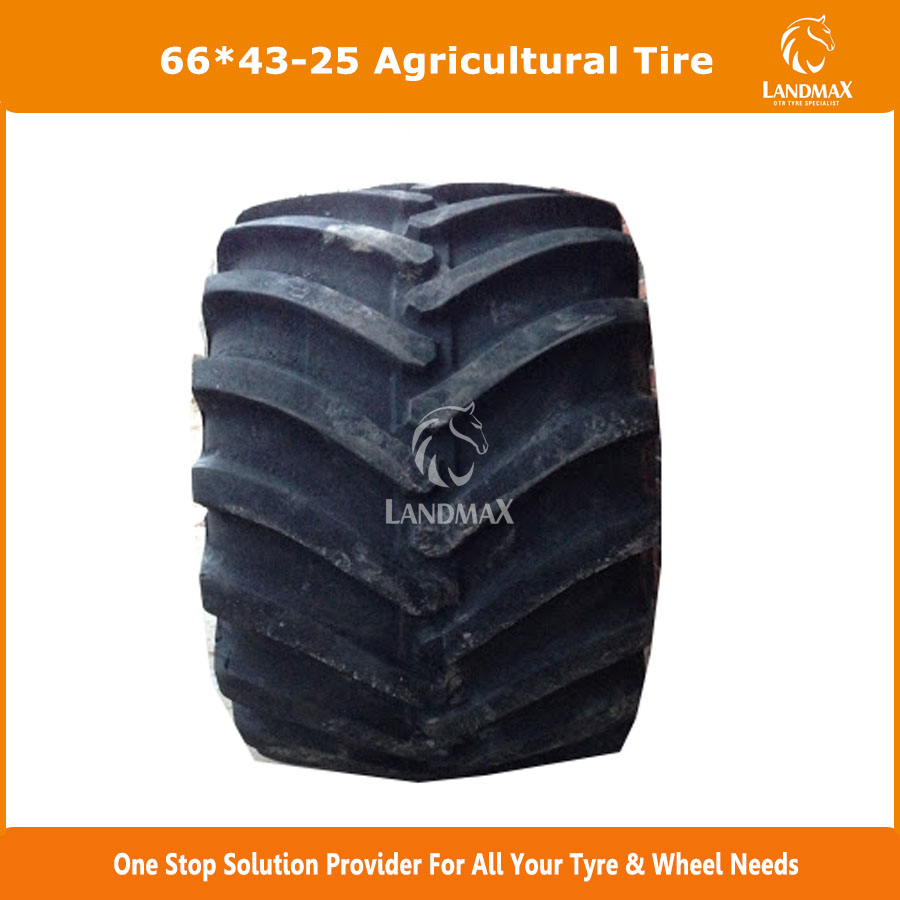 Low Price High Flotation Tire 66x43.00-25 HF-3 Pattern