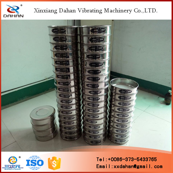 Xinxiang Dahan cement fineness sieve set test standard sieves