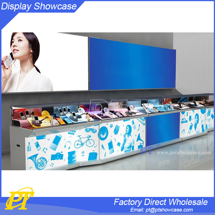 Hot sale mobile phone shops photos for mobile kiosco store decoration