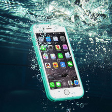 2017 summer Wholesale 360 Degrees Full Protective colorful cell phone waterproof case for iphone 7