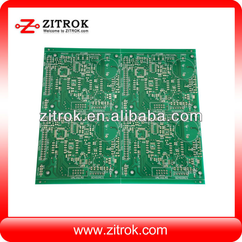 green fr4 3 mil line width/spacing double sided pcb board supplier