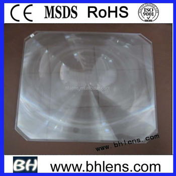 Pure PMMA material 330mm OHP fresnel lens for STAGE LAMP