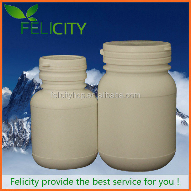 Dietary Supplement custom make 250ml PET plastic bottle