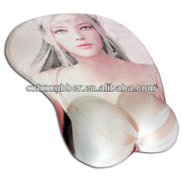 sex girls mouse pad,breast mouse pad,good gel mouse pad