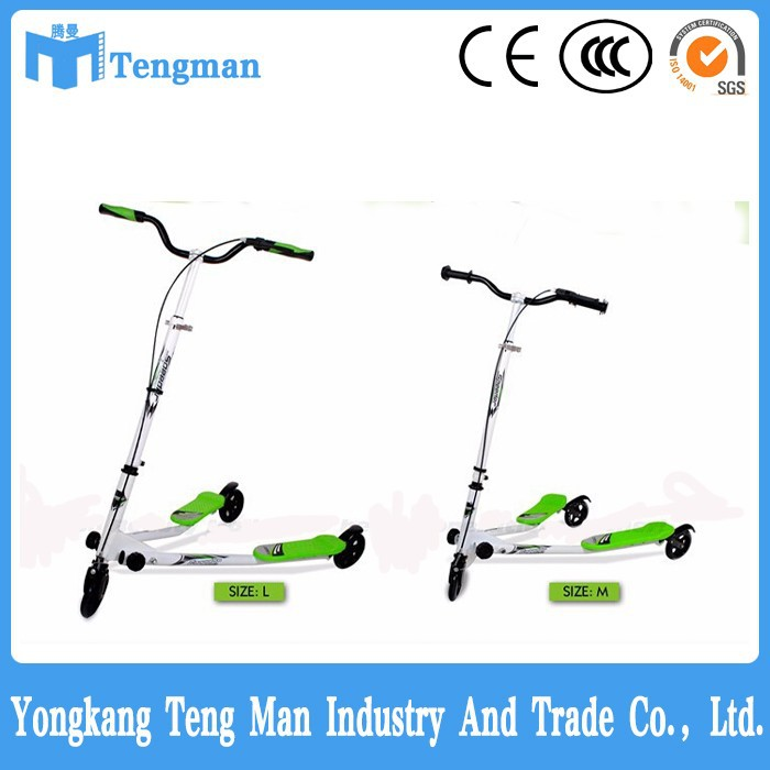 most popular trike adult push scooter