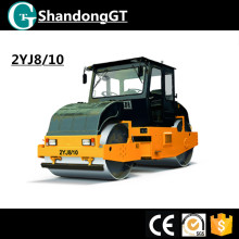 8t small two wheel static road roller for sale