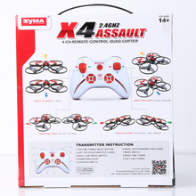 Syma Mini Drone 2.4G Mini Quad Best Gift For Kids 4Ch Mini Quadcopter