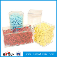 stackable acrylic candy storage box &bin