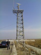 steel radar mobile telescopic fabricating steel tower