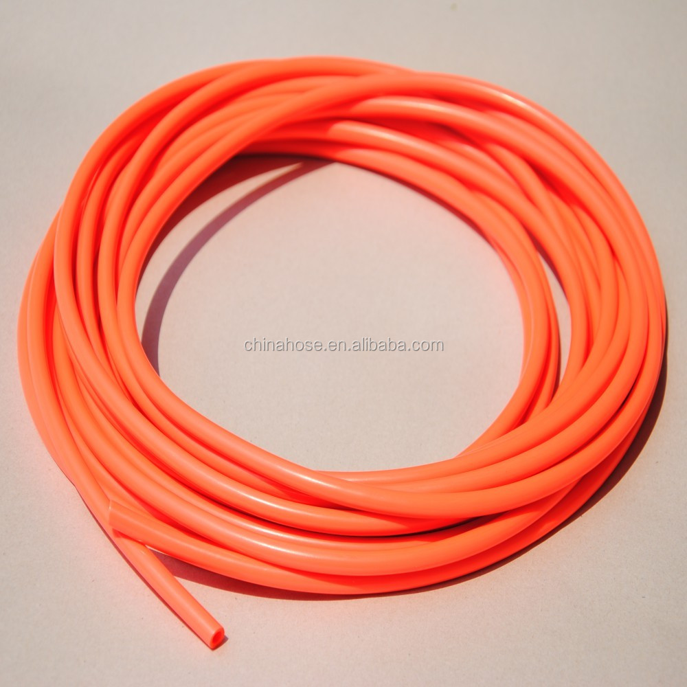 Cixi jinguan factory supply soft quot red vinyl tubing