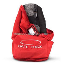 Car Seat Travel Bag, Best Gate Check Bag For Airplane durable Shoulder Strap, Waterproof light Storage Infant Carriers