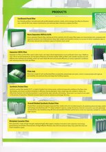 air filter, filter cloths, fabric ducts