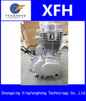 ALUMIUM CHINA manufacturer supply single cylinder AIR-cooled 250cc motorcycle engines VERTICAL